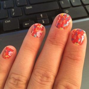 3/$10🌺Promised  Jamberry Nail Wrap Manicure